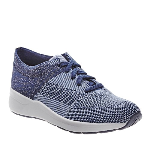 Easy Spirit Women's Inkera Oxford,Dark Blue Multi Fabric,US 9 M