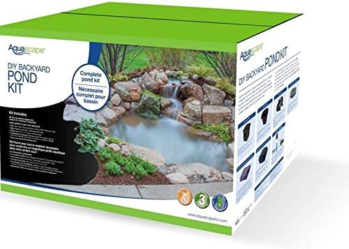 Amazon Com Aquascape Diy Backyard Pond Kit 8 Feet X 6 Feet 99764 Complete Pond Kits Garden Outdoor
