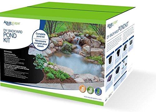 Amazon.com : Aquascape 99765 MicroPond Kit 8u0027x11u0027 (1000 Gallons) : Complete Pond  Kits : Garden U0026 Outdoor