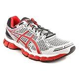 Asics 2013 Men's GT-3000 Running Shoe – T308N (White/Red/Black – 11)