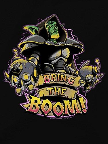 JINX-Hearthstone-Mens-Bring-The-Boom-Premium-Cotton-T-Shirt