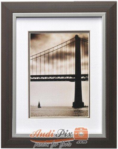 Henzo Frisco Bay 673561Wall Frame 15X 20Cm, Plastic, Brown (Brown-rahmen)