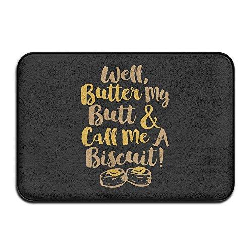 Butter Bun - Well Butter My Buns and Call Me A Biscuit Door Mats Outdoor Mats 23.6
