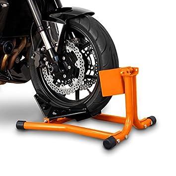 ConStands calzo para rueda caballete moto delantero Easy Anaranjado Honda Pan European ST 1300: Amazon.es: Coche y moto