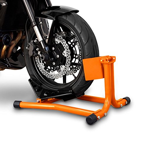 Motorradwippe f/ür Harley Davidson Electra Glide Standard f/ür Anh/änger Transportst/änder Montagest/änder Vorderrad Orange Constands Easy Classic FLHT