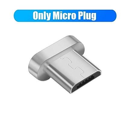TOUSHI Cable Cargador Cable magnético de 90 Grados USB c Micro USB ...