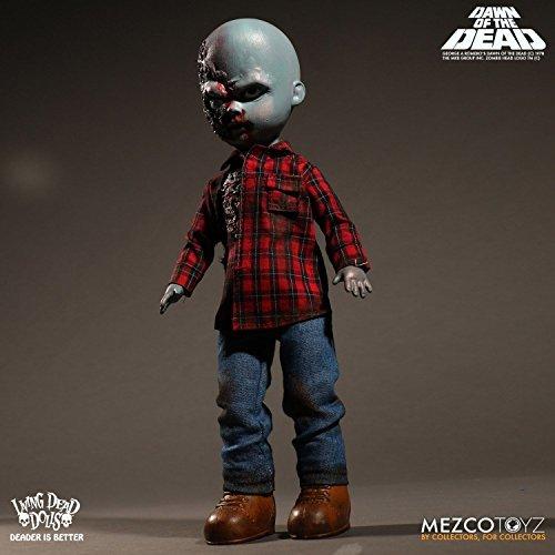 Mezco Living Dead Dolls Dawn of the Dead Plaid Shirt Zombie 10-Inch Doll (Living Dead Dolls Day Of The Dead)
