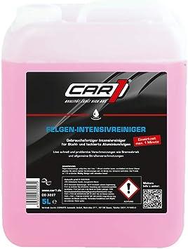Car1 Felgen Intensivreiniger Felge Felgen Reiniger Reinigung Aussenreinigung Aufbereitung Wheel Rim Cleaner Kanister 5l Auto