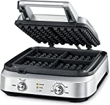 Breville BWM604BSSUSC the Smart Waffle Batter, Silver