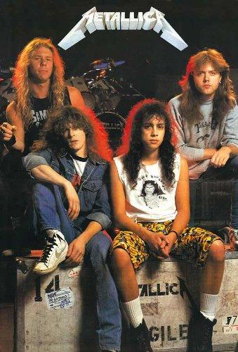 Metallica (1988) Thrash Metal Band Music Poster Size 24x35 Inch O-7338