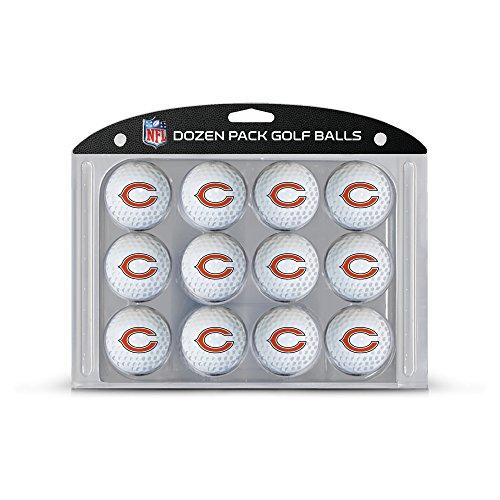 Bears Golf Chicago Ball (Team Golf NFL Chicago Bears Dozen Regulation Size Golf Balls, 12 Pack, Full Color Durable Team Imprint)