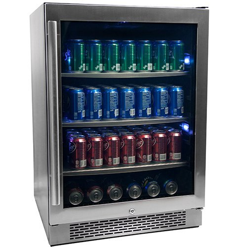 "7. Avallon 152 Can 24"" Built-In Beverage Cooler"
