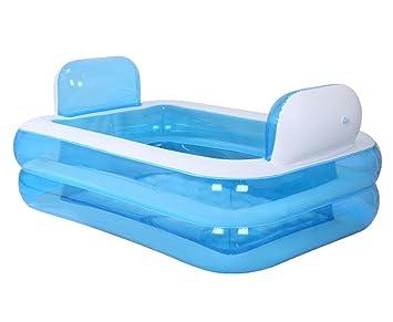 Vasca Da Bagno Bambini Pieghevole : Ali@ gonfiabile vasca idromassaggio ispessito adulti pieghevole