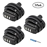 Trigger Lock 3 Digit Combination Gun Lock 3 Pack Fits Pistols Hand Gun Rifles Bb Gun Shotguns (3PCS)