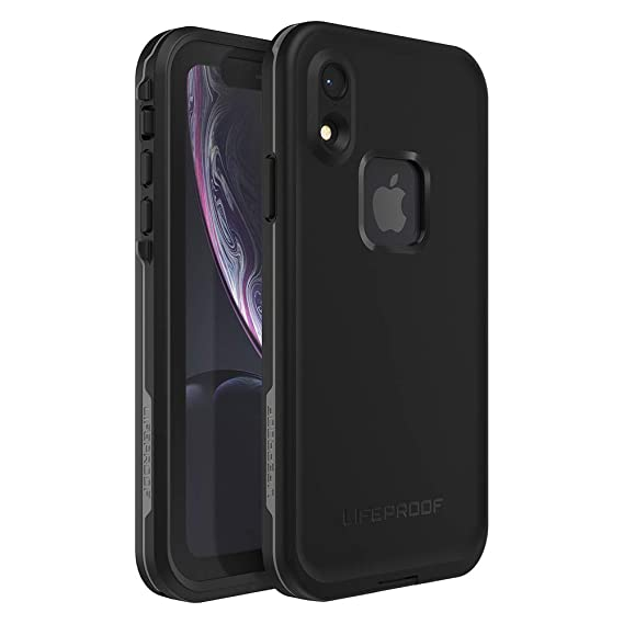 buy online 144cd 87a29 Lifeproof FRĒ SERIES Waterproof Case for iPhone XR - Retail Packaging -  ASPHALT (BLACK/DARK GREY)