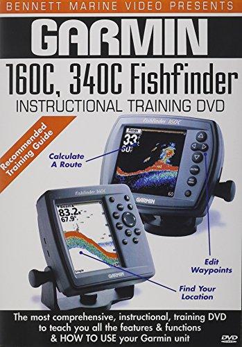 Garmin 160C, 340C Fishfinder Fishfinder Instructional Dvd