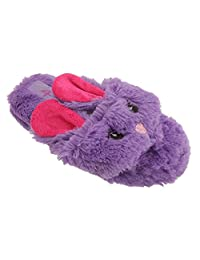 4 Kidz Childrens/Girls Rabbit Design Toe Post Flip Flop Slippers