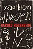 The Tradition of the New, Harold Rosenberg, 0836921275