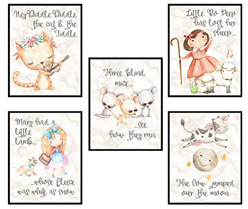 nursery rhyme wall decals - 1