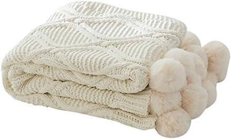 Caliente suave del 100% de algodón de punto Throw/Manta con Big ...