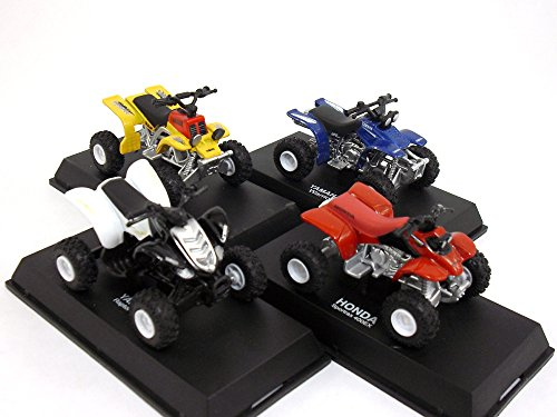 ATV - Quad Bike - Four Wheeler Collection of 4 different 1/32 Scale Die-cast Metal Models