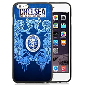 Fashionable Custom Designed Cover Case For iPhone 6 Plus 5.5 Inch With Soccer Club Chelsea 03 Football Logo Cell Phone Case
