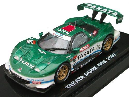 1/64 TAKATA童夢 NSX 2007 PHILIPS #18(グリーン×ホワイト) 「Beads Collection スーパーGTオフィシャルミニチュアカーシリーズ」 06591C