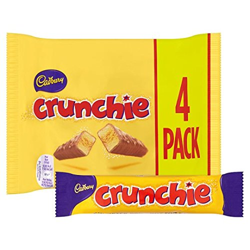 Cadbury Crunchie Chocolate Bars 26.1g each - Pack of 24 bars