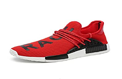 classic fit 84200 1a7ee X Pharrell Williams NMD hu Human Race Red/Black Athlete ...