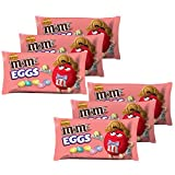 M&M's Chocolate Candies Speckled Eggs, Peanut Butter, 9.9-Ounce Packages (Pack of 6)