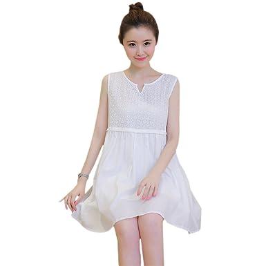 79c6ad3f40 ZEVONDA Fashion Elegant Women s Maternity Sleevesless Blouse ...