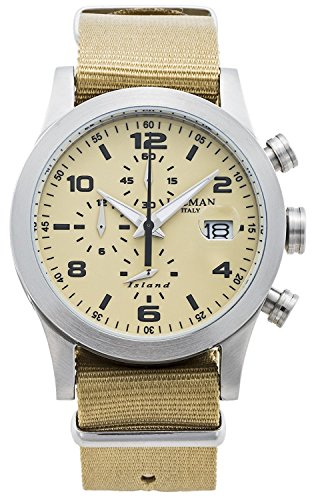 LOCMAN watch ISLAND 0618A04-00SABKNH Men's