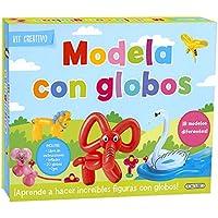 Modela con globos (Kit creativo)