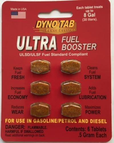Dyno-tab 45720 Ultra Fuel Booster 6 Tab Card (Dyno Tab)