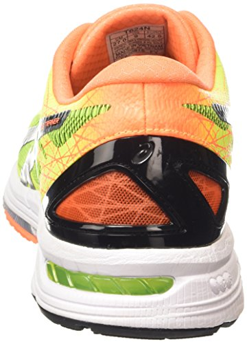 Asics Gel-DS Trainer 21, Scarpe Running Uomo, FlashYellow/Black/HotOrange Giallo (Flash Yellow/Black/Hot Orange 0790)