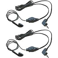 Cobra GA-EB M2 Earbud & Microphone MicroTalk Walkie Talkie Headsets (2 Pack)