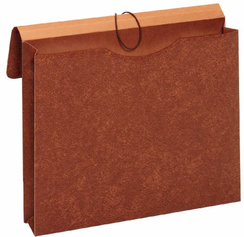 Globe-Weis/Pendaflex Letha-Tone Envelope, Letter Size, 2-Inch Expansion, Brown, (MM30)