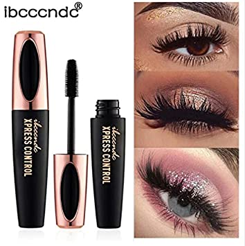 fb61fed332e Amazon.com : WantToBuyshop New 4D Silk Fiber Lash Mascara Waterproof Rimel  3d Mascara For Eyelash Extension Black Thick Lengthening Eye Lashes  Cosmetics : ...