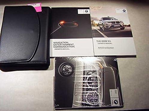 2016 bmw x3 with navigation manual owners manual bmw amazon com books rh amazon com BMW X3 Display Miles BMW X3 Seats