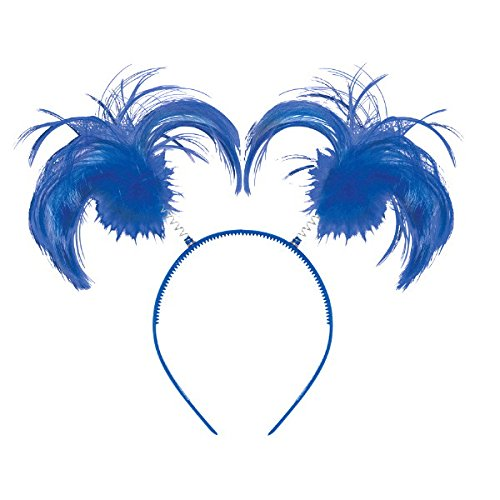 Amscan Blue Ponytail Headband, Party Accessory,12 Ct.