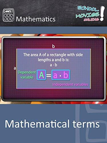 Mathematical Terms - School Movie on Mathematics