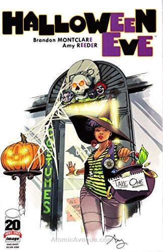 Halloween Eve #1B VF ; Image comic -