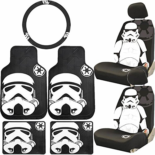 star wars stormtrooper seat cover - 9