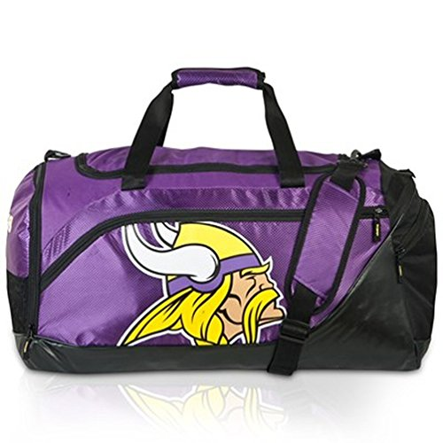 NFL Football MINNESOTA VIKINGS Medium Core Duffle Bag/Tasche/Sporttasche