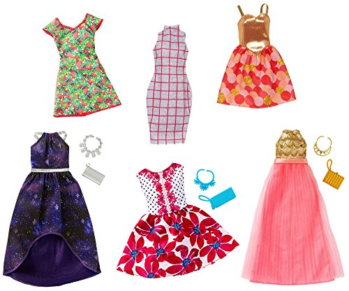 Barbie Fashions Pack, 12 Pieces