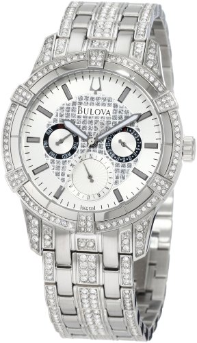 Bulova Men's 96C109 Crystal Multi Function Watch