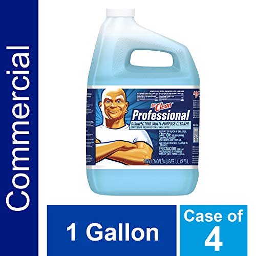 (Mr. Clean Professional 58776 Professional Disinfecting Multi-Purpose Cleaner, Fresh, 1gal Bottle (Case of 4))