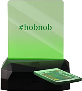 #Hobnob - Hashtag LED Rechargeable USB Edge Lit Sign
