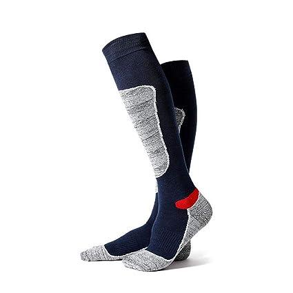 AOLVO Calcetines de Senderismo Largo, Calcetines de Senderismo para Hombres, Senderismo y Otros Deportes