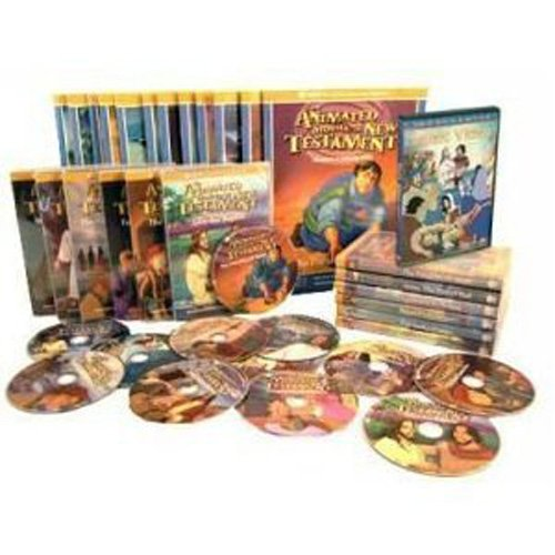 The NEST Family Animated Bible stories the Complete Set Of 36 DVDs